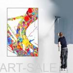 Günstige moderne Acrylbilder. Großformatige Leinwandbilder. Online günstig kaufen.