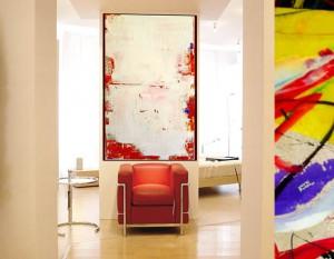 Designermoebel und moderne Kunst fürs Büro, Objektausstattung