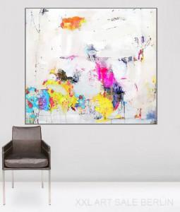Malerei in Öl und Acryl