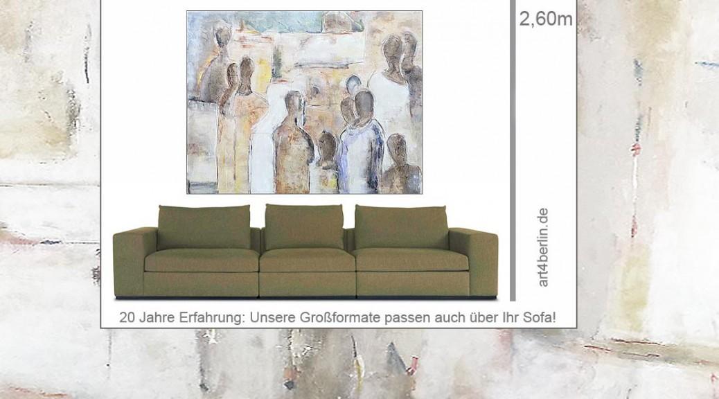 Bunte Acrylmalerei, pastose Strukturen, Ölfarben auf Leinwand. Art Sale Berlin
