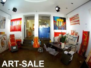 Junge Kunst, abstrakte Gemälde günstig online kaufen