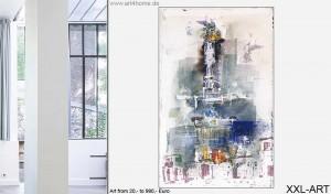 moderne Kunst, abstrakte Gemälde, große Bilder