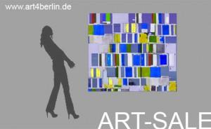 moderne kunst im buero
