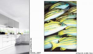 Junge Malerei und großformatige Leinwandbilder online kaufen.