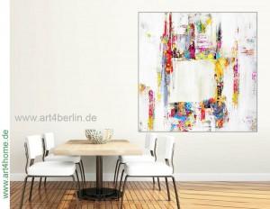 Große Leinwandbilder, farbenfrohe Gemälde, Modern Art!