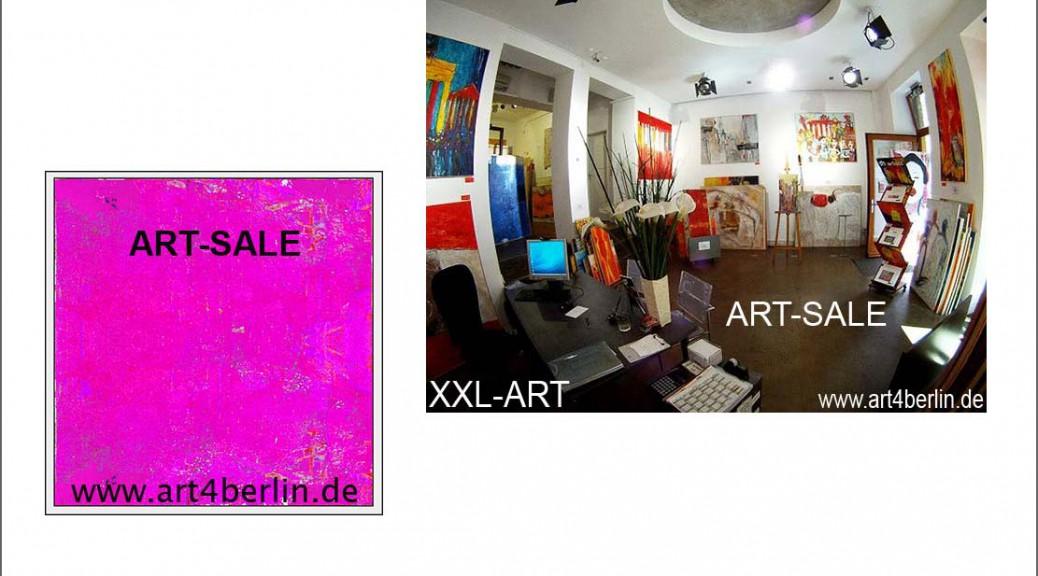 Galerie und Kunsthandel in Berlin, Berliner-Originale-Kunst, abstrakte Ölmalerei,
