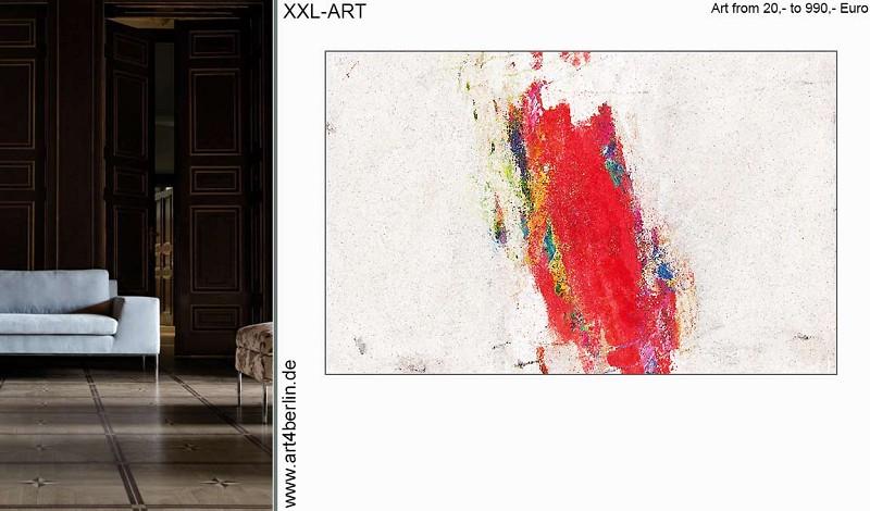 Kunst, Malerei, großformatigen Bilder