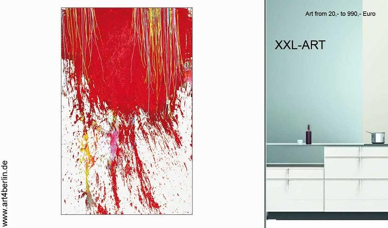 moderner XXL Kunst aus Berlin