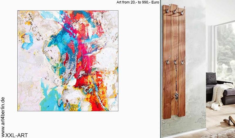 XXL Acrylbilder, abstrakte und gegenständliche Malerei