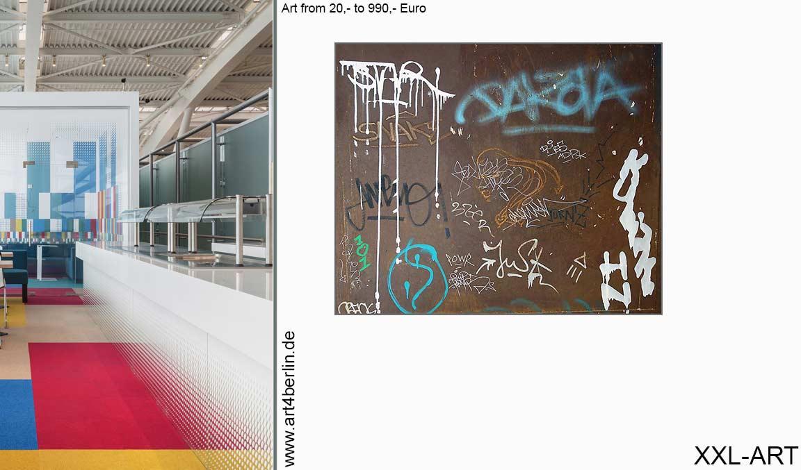 Dekorieren und einrichten mit kunst bildern art4berlin for Modern wohnen einrichten
