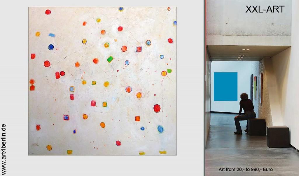 Große Bilder, moderne Malerei, abstrakte Gemälde, günstige XXL Malerei.