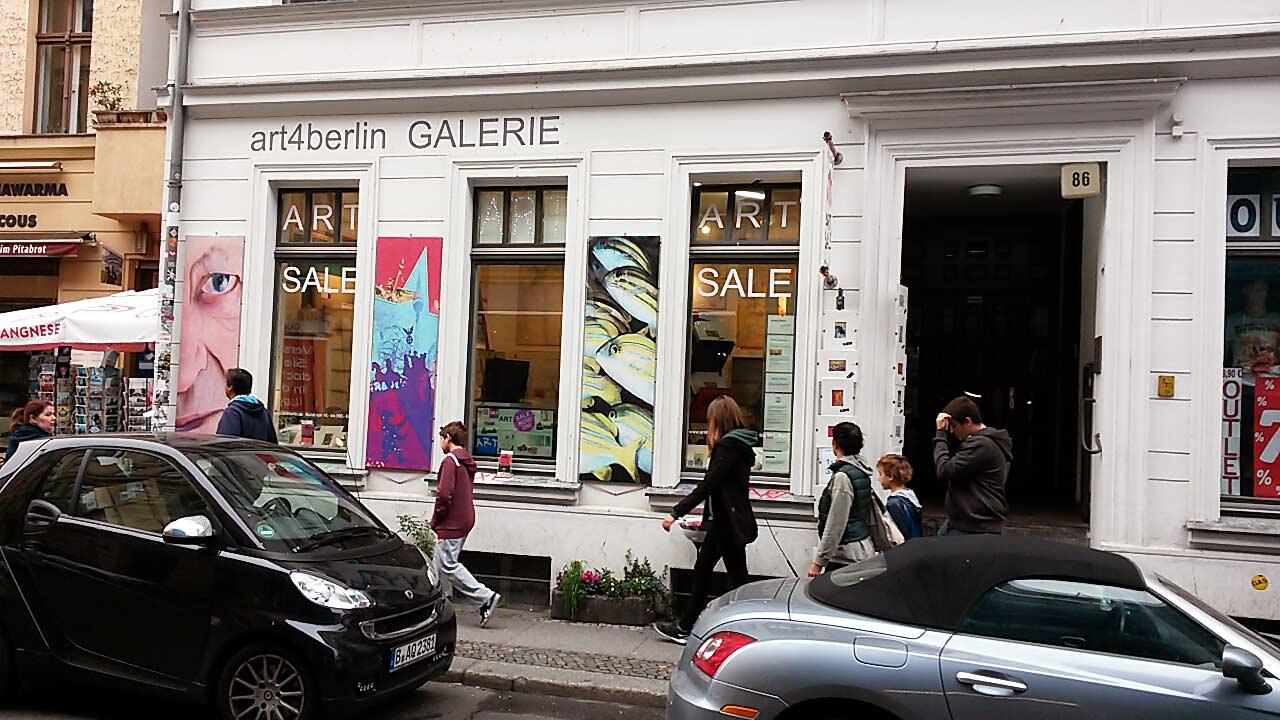 Kunst von jungen Berliner Künstlern